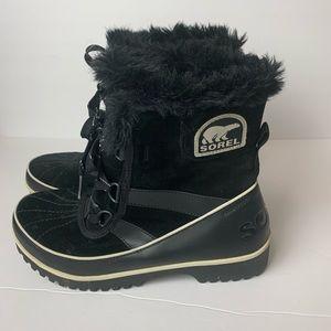 Sorel Trivoli II Suede Boot Women's 9 Black